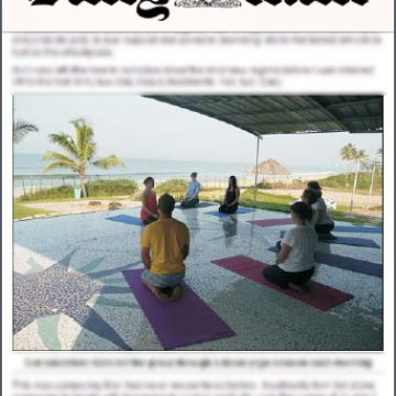 Daily Mail for Yoga
