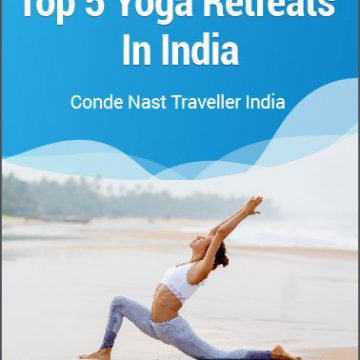 Top 5 yoga retreats in India